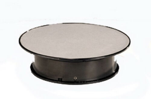 Rotary display stand large grande giratoria diámetro 31cm plata Autoart