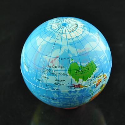 World Map Foam Earth Globe Stress Relief Foam Ball Bouncy Elastic Soft Toy Gift