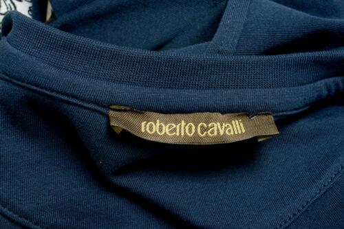 Roberto Cavalli Men/'s Blue Graphic Print T-Shirt Sz S M L XL 2XL