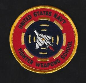 US-Navy-Fighter-Weapons-School-NFWS-TOP-GUN-USS-HAT-PATCH-USS-NAS-MIRAMAR-FALLON