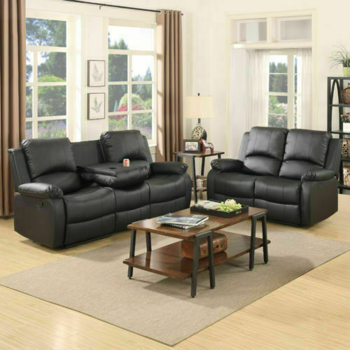 3 2 Seaters Sofa Set Loveseat Chaise