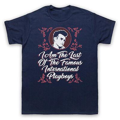 Dernier de la célèbre Playboy Officieux Morrissey Smiths Manches 3//4 Baseball Tee