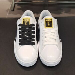 new arrivals 66550 5f596 Details about BTS PUMA Basket Patent Made by BTS with Fan Meeting Photo  Ticket +Track Number