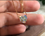 2Ct-Heart-Solitaire-Promise-Pendant-Necklace-W-Chain-Solid-14K-Yellow-Gold-Over thumbnail 1