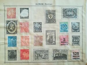 lot-N-230-10-timbres-Allemagne-a-decoller