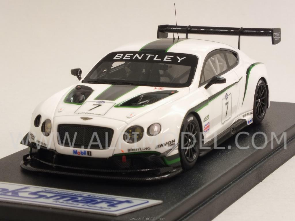 Bentley Continental GT3 Gulf 12 Hours Abu Dhabi 2013  K 1 43 LOOKintelligent LSBT04  magasin d'usine de sortie