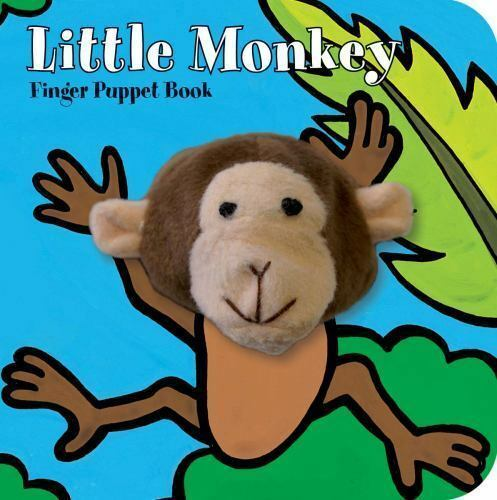 Little Monkey: Finger Puppet Book (Little Finger Puppet Board Books) by Chronic