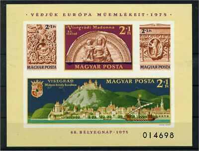114273 Europa Briefmarken MüHsam Ungarn 1975 Bl.115b Postfrisch