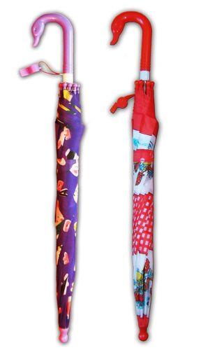 Automatique Enfants Parapluie ø80cm avec pipe Rouge Violet 61 cm Parapluie Parapluie 3463