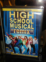 High School Musical (dvd) 2-disc Set Remix Edition Disney Channel Movie