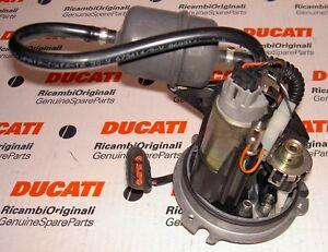 2003 era Ducati 749 999 fuel pump complete plate assembly 16023621A