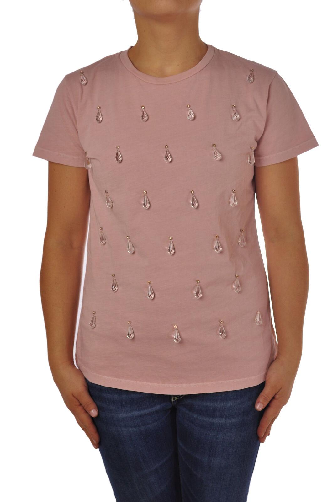 Pinko - Topwear-T-shirts - Woman - Pink - 4762010H184823