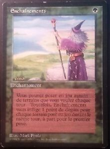 Enchainements-FBB-Fastbond-French-Black-Border-Revised-Mtg-Magic-Exc