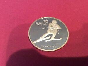 Silber Münze Calgary 1988 Elisabeth Ii Canada 1985 20 Dollar Ebay