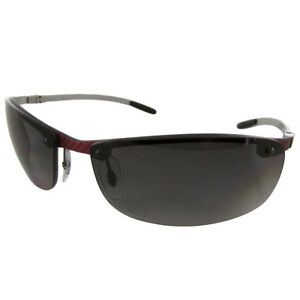 9268025da Ray Ban Tech RB8305 Carbon Fibre Semi Rimless Polarized Sunglasses ...