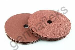 115-mm-125-mm-Fibre-poncage-ponceuse-Disques-Grit-abrasif-Fibre-Disques-Germaflex-Mirka