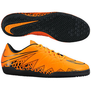 ead40bf98 NIKE HYPERVENOM PHELON II IC INDOOR SOCCER SHOES Total Orange Black ...