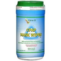 Citrus Ii Cpap Mask Cleaning Wipes (3) Canisters Of 62 Wipes
