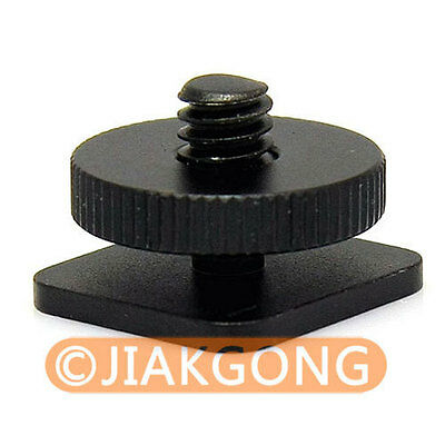 "DSLRKIT 1/4""-20 Tripod screw to Flash Hot Shoe Mount Adapter"