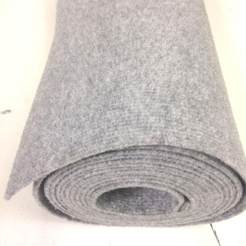 Horsebox carpet wall lining boat liner 20sq mtrs roll (10m x 2m) SILVER GREY RF