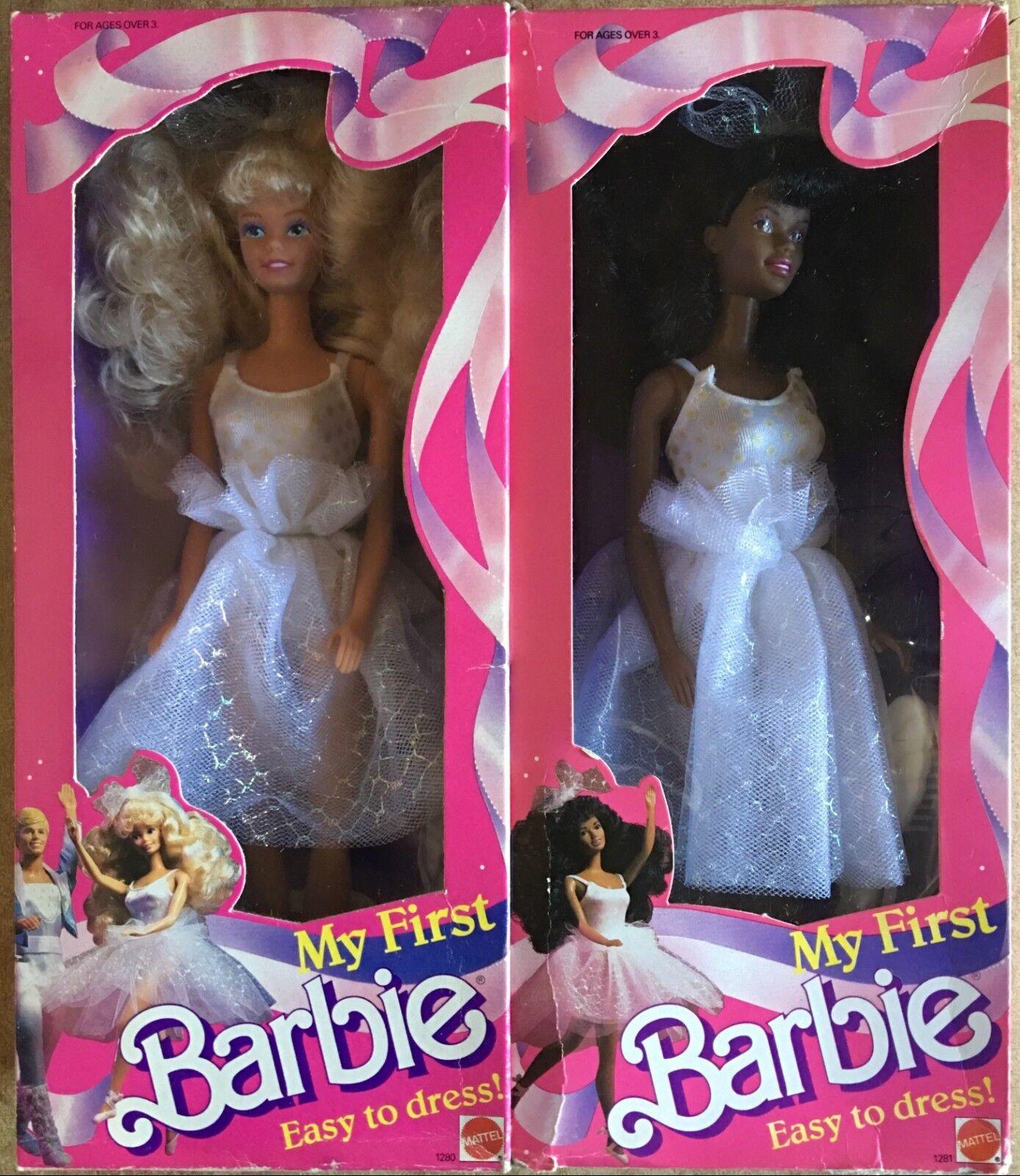 Barbie Mattel My First Barbie Ballerina -Ballet Vintage 88'