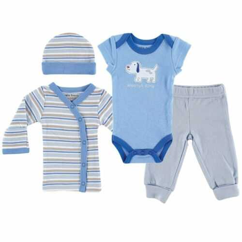 Luvable Friends Premature Baby Layette Set Boys Blue Girls Pink Preemie Cotton