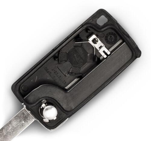 01A Fits Peugeot 307 2 Button KEY FOB REMOTE CASE Repair Fix Kit VA2 blade 0536
