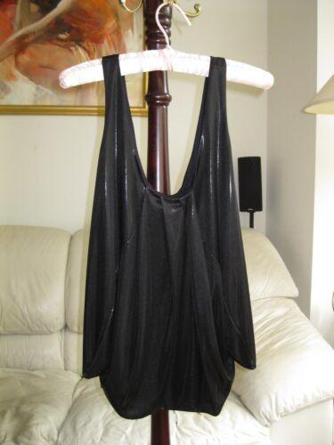 Size leeza Liquid Furstenberg Top New Diane Von 4 Black tgXxwHq