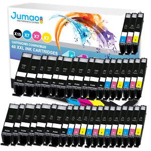 Lot-de-40-cartouches-jet-d-039-encre-type-Jumao-compatibles-pour-Canon-Pixma-TS8050