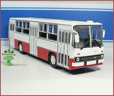 1:43 Ikarus 260 red//white Stadtlinien Bus Hungary DDR USSR UdSSR russian