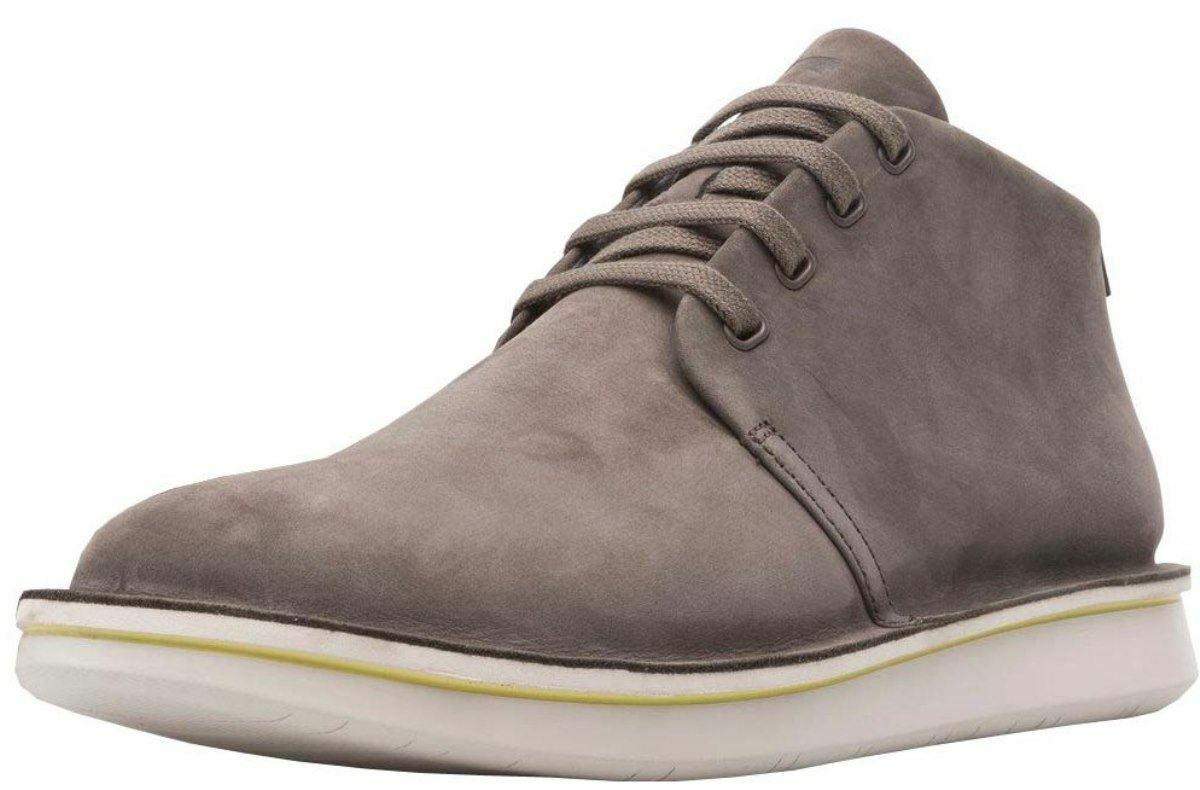 Camper Formiga K300281 grau Weiß Mens Leather Trainers Stiefel
