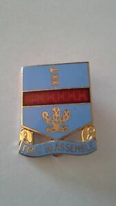 Authentic-WWII-US-Army-162nd-Infantry-Regiment-Unit-DI-DUI-Insignia-Crest-PB-NH