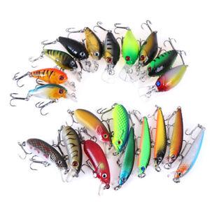 Minnow-fishing-lures-bass-crankbait-hooks-tackle-crank-baits-fishing-box-LDUK