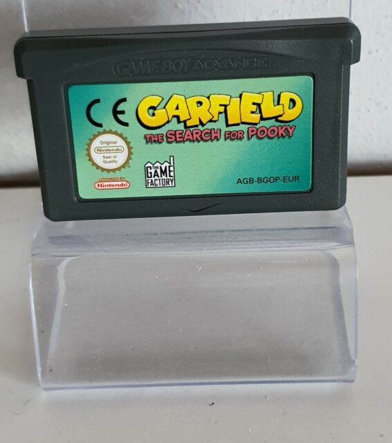 Garfield (Nintendo Gameboy Advance, 2004, Module) A8317