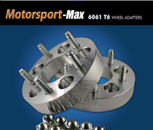 "2 Wheel Adapters 5 Lug 5.5 To 5 Lug 4.5 Step Bore 108mm 5x5.5//5x4.5/"""