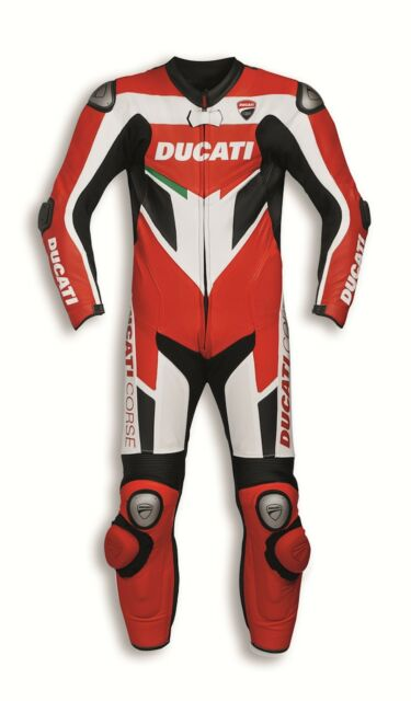 Ducati 9810371 Leather Suit 1 Piece Single MOTORCYCLE CORSE C3 Perforated 56