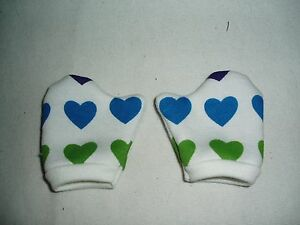 Valentine-Mittens-Fits-American-Girl-Dolls-18-034-Doll-Clothes-Hearts