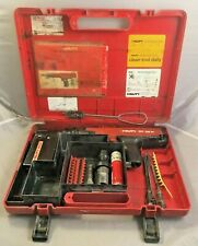 Hilti Dx36 M Power Actuated Nail Gun With M62 Magazine Case Pistons Manual Etc