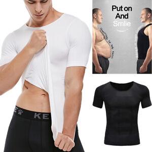 Ultra-Lift-Body-Slimming-Men-Shapewear-Vest-Shirt-Belly-Chest-Corset-Shaper-Top
