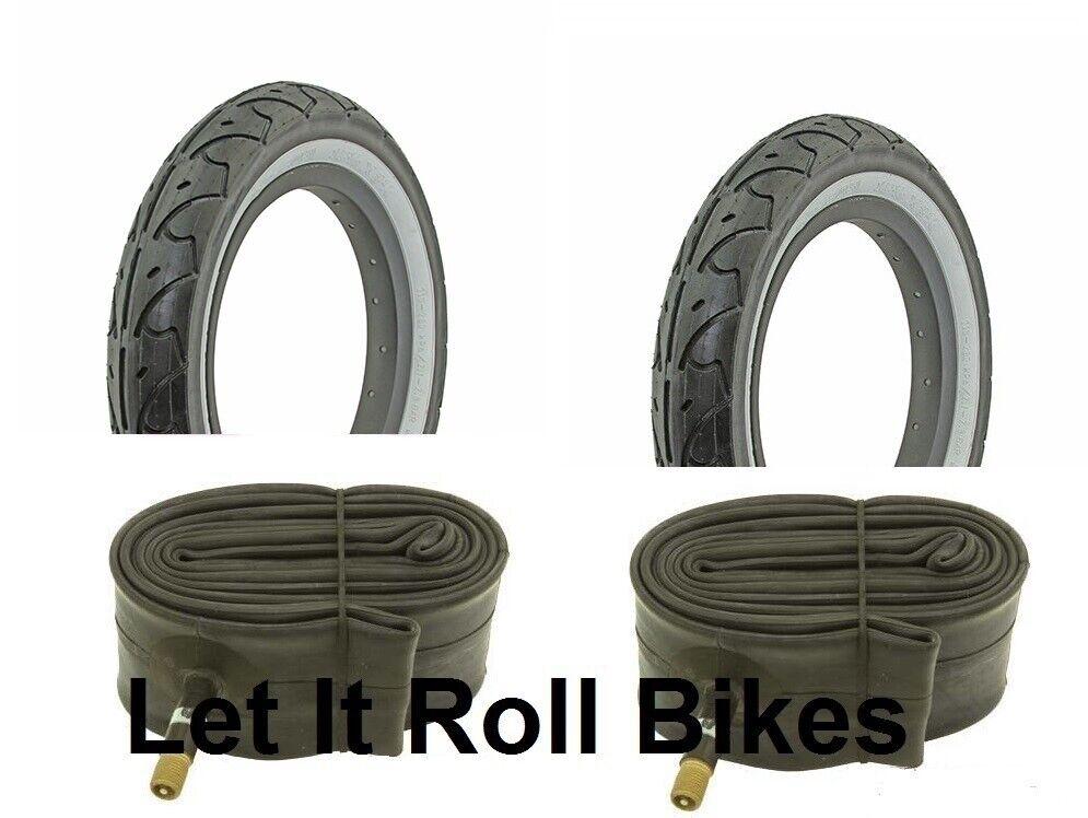 Bicycle 2 Tires 2 Tubes 12-1 2  x 2-1 4  FreeStyle WW BMX Cruiser Lowrider Bikes