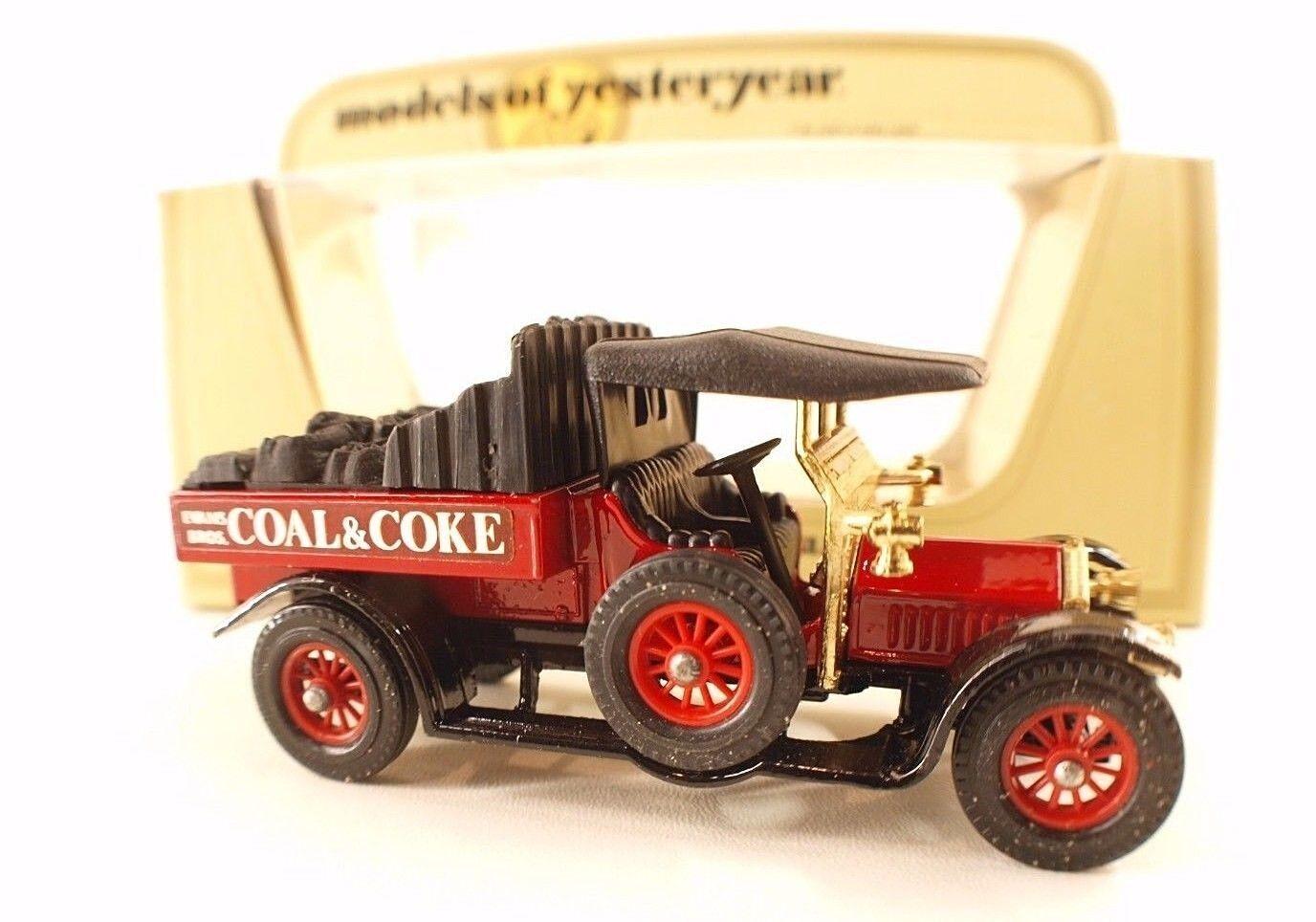 Matchbox Models of Yesteryear n° Y13 Crossley Coal Coke 1918 neuf en boite 1 47