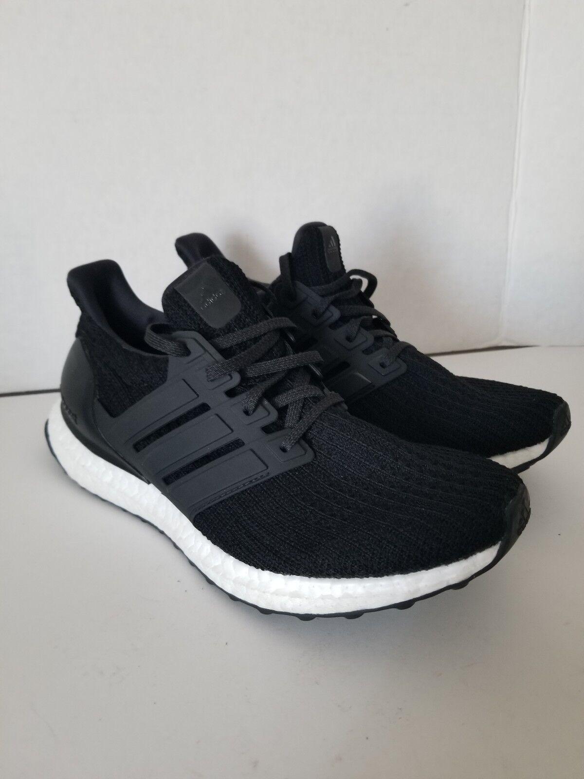 ADIDAS  UltraBoost  Women's Core Black Sneaker Running shoe Size 7   180+