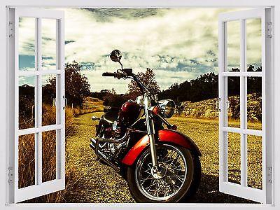 Harley bike decals motorbike sticker Motorcycle 3d window home wall Decal w80