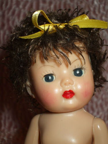 "Curly Poodle Cut Semi-Sweet Color Wig for 7-8/""Dolls /& 5-6/"" Head"