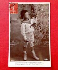 CPA. 1909? GARÇONNET. JEU de DIABOLO. Costume Marin.