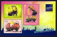 Singapore 2010 Zodiac Year of the Tiger - London Stamps Exhibition M/S