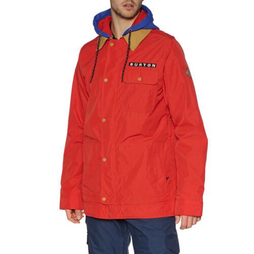 Flame Scarlet All Sizes Burton Dunmore Mens Jacket Snowboard