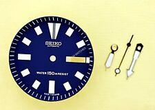 NEW SEIKO BLUE DIAL HANDS MINUTE TRACK SET FOR SEIKO 6309 7290 WATCH NR-106