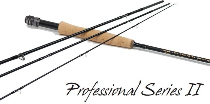 TEMPLE FORK OUTFITTERS PROFESSIONAL SERIES II 8' 6  4 WEIGHT 4 PIECE FLY ROD+BAG