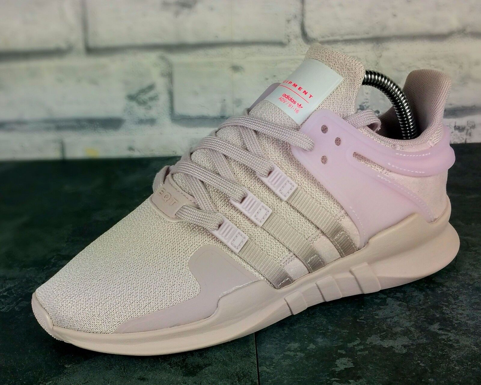 BNWB & Genuine Adidas EQT Equipment Support Adv ® Ice  Violet  Trainers All La tailles